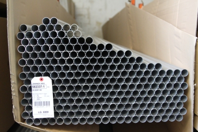 The consumption of dural tubes in the production is counted in tons.